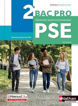PSE, prévention, santé, environnement, 2de bac pro : nouveau programme 2019
