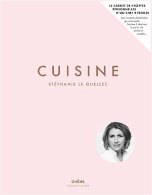 Cuisine : carnet de recettes personnelles