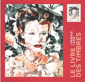 Le livre des timbres : France 2019