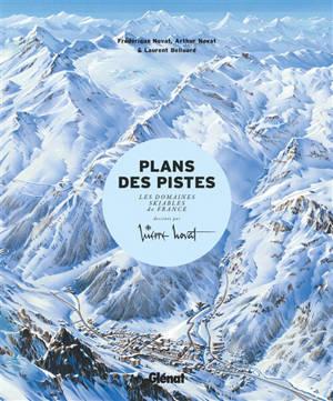 Plans des pistes : les domaines skiables de France dessinés par Pierre Novat