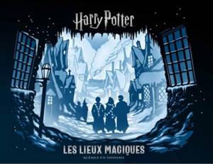 Harry Potter : les lieux magiques : scènes en diorama