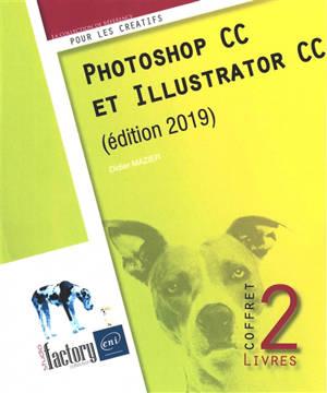 Photoshop CC et Illustrator CC : coffret 2 livres