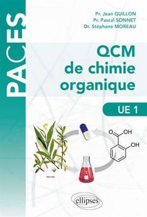 QCM de chimie organique, UE 1