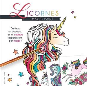 Licornes : magic paint
