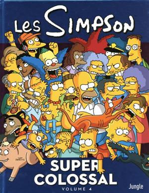 Les Simpson : super colossal. Volume 4