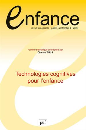Enfance. n° 3 (2019), Technologies cognitives pour l'enfance