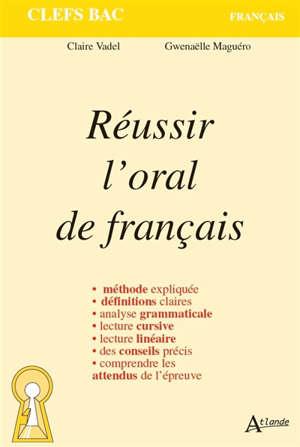 Réussir l'oral de français
