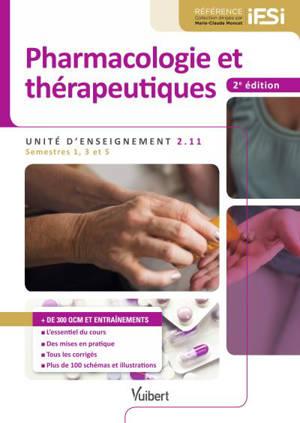 Pharmacologie et thérapeutiques : unité d'enseignement 2.11 : semestres 1, 3 et 5