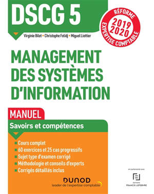 DSCG 5, management des systèmes d'information