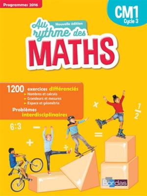 Maths, CM1 cycle 3 : programmes 2016