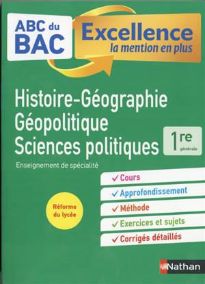 Histoire géographie, géopolitique, sciences politiques 1re générale : enseignement de spécialité : réforme du lycée