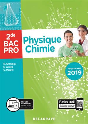 Physique chimie, 2de bac pro : programme 2019