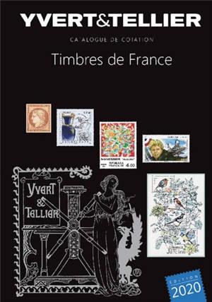 Catalogue Yvert et Tellier de timbres-poste. Volume 1, France : émissions générales des colonies : 2020