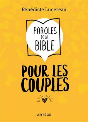 Paroles de la Bible pour les couples
