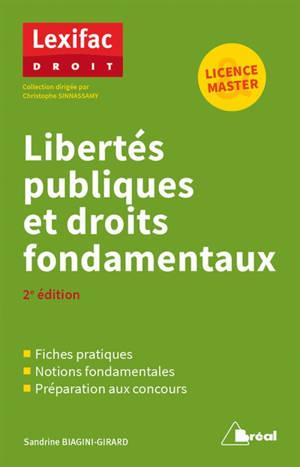 Libertés publiques et droits fondamentaux : licence & master