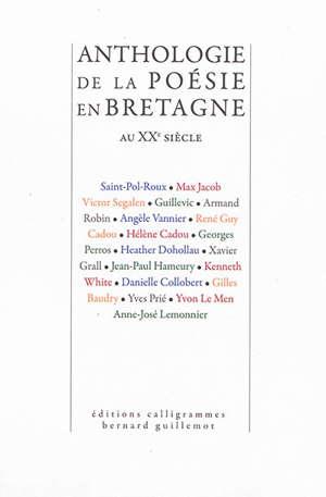 Anthologie de la poésie en Bretagne au XXe siècle