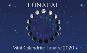 Lunacal : mini calendrier lunaire 2020