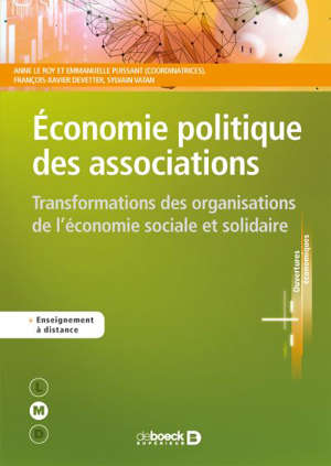 Economie politique des associations : transformations des organisations de l'économie sociale et solidaire