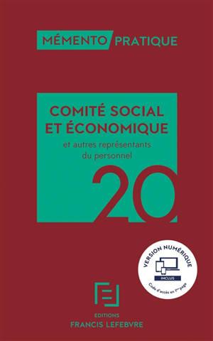 Comité social et économique et autres représentants du personnel 2020