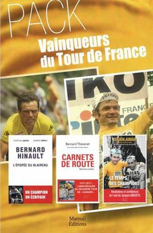 Pack vainqueurs du Tour de France