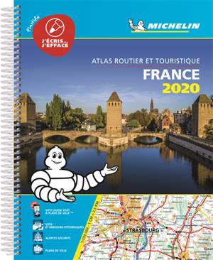 France 2020 : atlas routier et touristique : plastifié = France 2020 : tourist and monitoring atlas = France 2020 : Strassen- und Reiseatlas