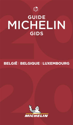 Belgique, Luxembourg : guide Michelin 2020 = België, Luxembourg : Michelin gids 2020