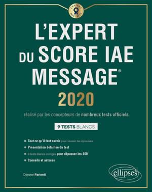 L'expert du Score IAE Message : 2020