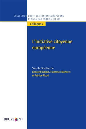 L'initiative citoyenne européenne