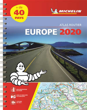 Europe 2020 : atlas routier et touristique = Europe 2020 : tourist and motoring atlas = Europa 2020 : Strassen- und Reiseatlas