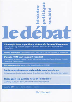 Débat (Le). n° 207