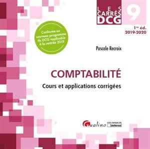 Comptabilité : cours et applications corrigés : 2019-2020
