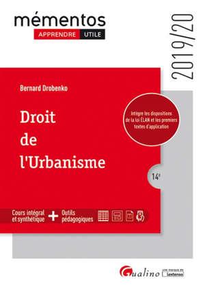 Droit de l'urbanisme : 2019-2020