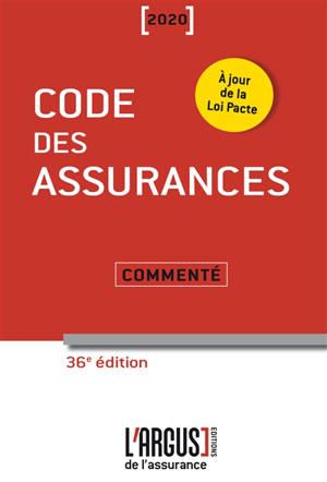 Code des assurances 2020 : commenté
