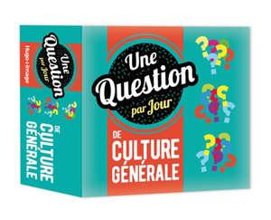 Une question de culture générale par jour : 2020