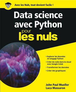 Data science avec Python pour les nuls