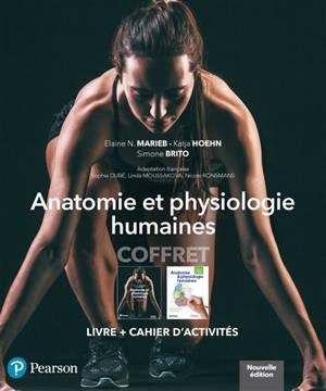 Coffret anatomie et physiologie humaines : livre + cahier d'activité : manuel + édition en ligne + MyLab + multimédia (60 mois) + cahier de TD