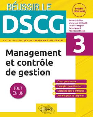 Management et contrôle de gestion, UE 3 : tout en un : nouveau programme