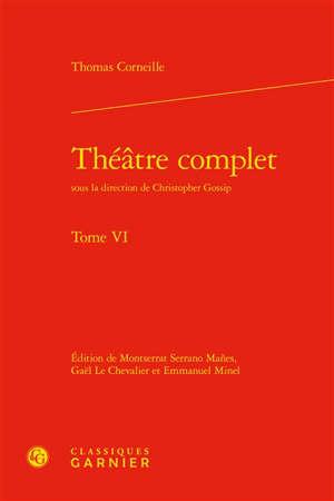 Théâtre complet. Volume 6
