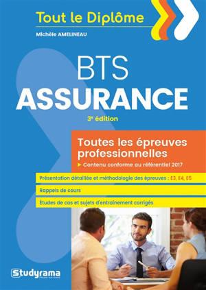 BTS assurance : toutes les épreuves professionnelles
