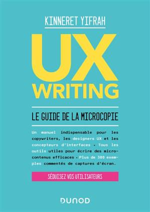 UX writing : le guide de la microcopie