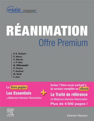 Réanimation : + accès à l'e-book du traité complet