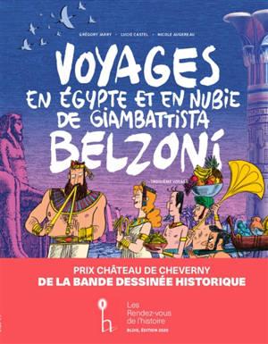 Voyages en Egypte et en Nubie de Giambattista Belzoni. Volume 3, Troisième voyage