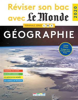 Géographie, terminale, séries L, ES, S