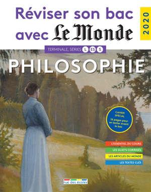 Philosophie, terminale, séries L, ES, S