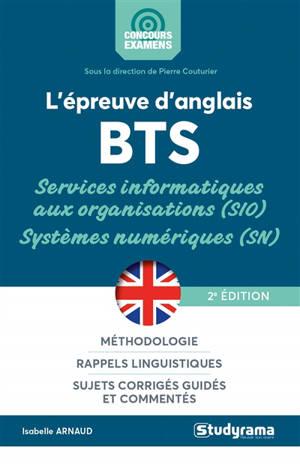 L'épreuve d'anglais BTS services informatiques aux organisations (SIO), systèmes numériques (SN)