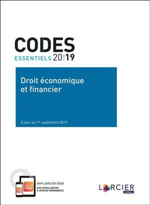 Droit économique et financier 2019