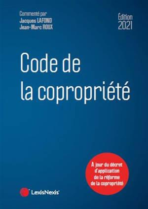 Code de la copropriété 2020