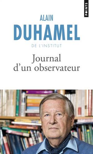 Journal d'un observateur : récit