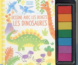Dessine avec les doigts : les dinosaures