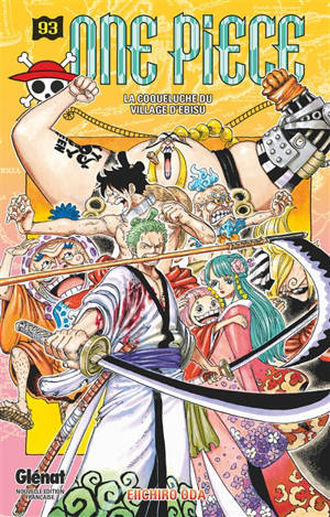 One Piece : édition originale. Volume 93, La coqueluche du village d'Ebisu